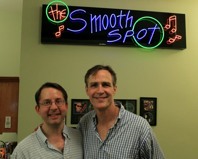 David Loud and Howard McGillin in The Smooth Spot